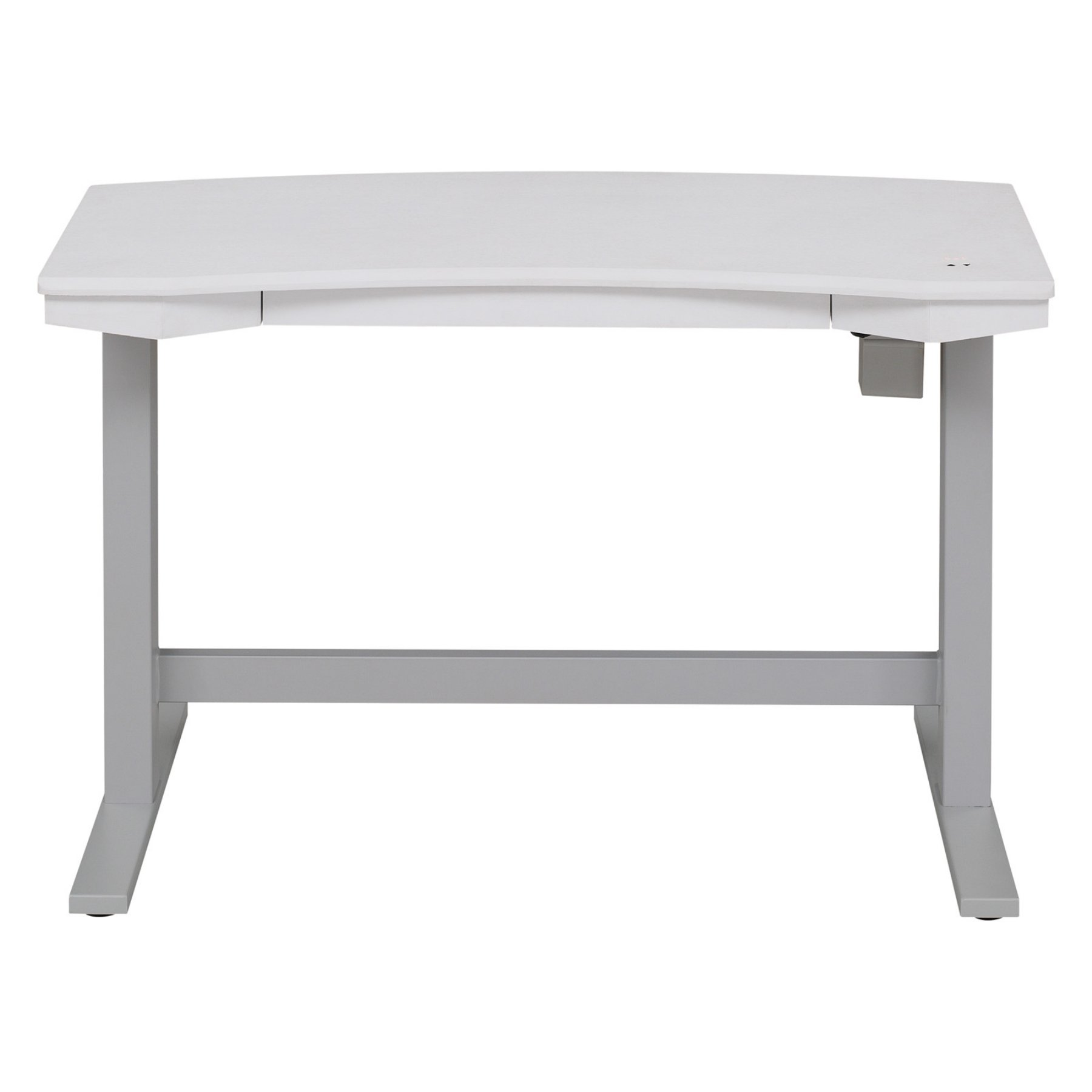 Twin Star Home Electric Adjustable Desk With Charging Station