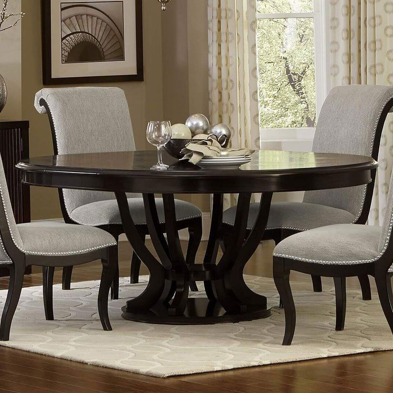 Savion Round Dining Table Oval Table Dining Oval Dining Room Table Dining Table With Leaf
