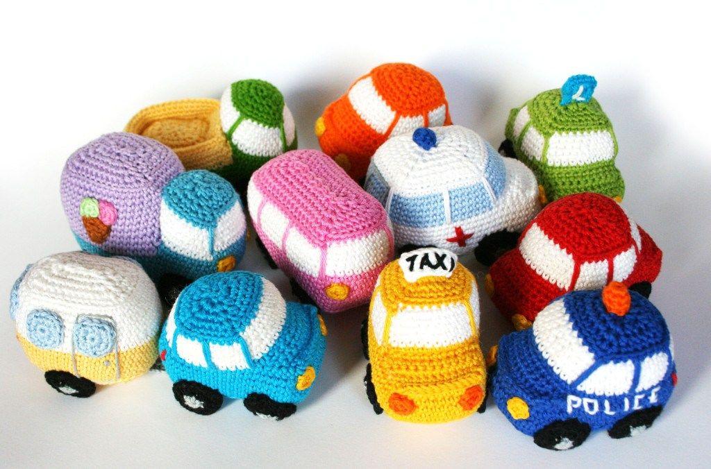 Haakpatroon 10 Kleine Autootjes #haken