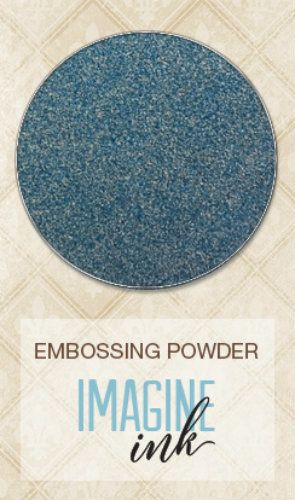 Blue Fern Studios - Embossing Powder - Stormy Skies