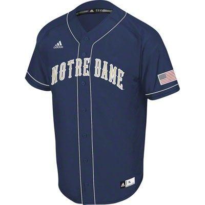 best cheap 1a9eb d44ba Notre Dame Fighting Irish Navy adidas Premier II Baseball ...