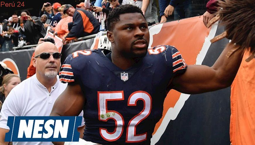 Khalil Mack Ankle Will Be Hobbled In Week 7 Vs The Patriots Patriots Mack New England Patriots