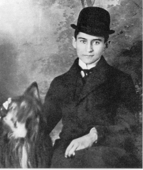 Kafka. Considered one of the most influential writers of the 20th century. Although a German language writer of novels and short stories.