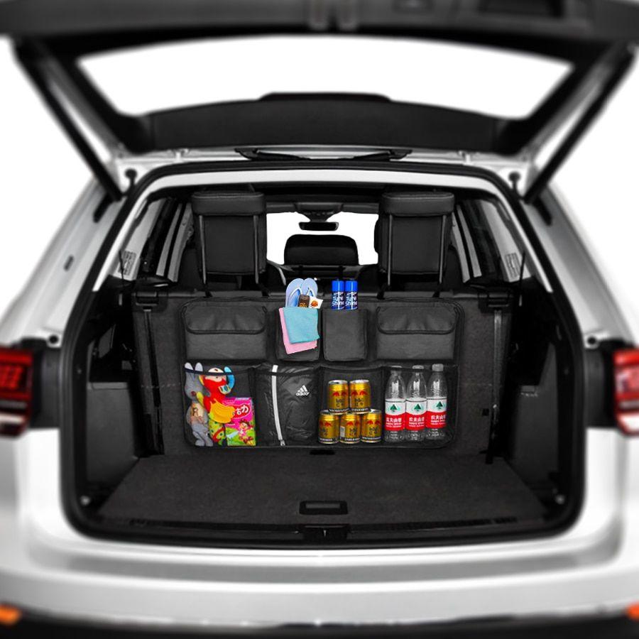 Car Trunk Organizer Backseat Storage Bag High Capacity Adjustable