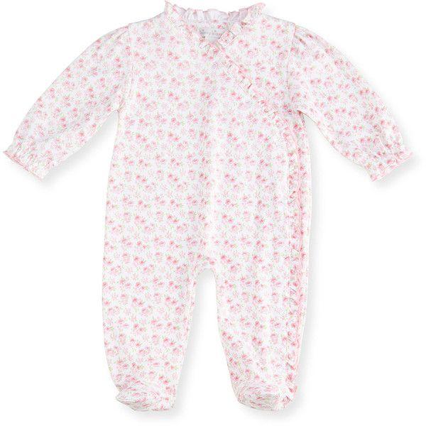 Kissy Kissy Baby-Girls Infant Mini Blooms Lilac Footie