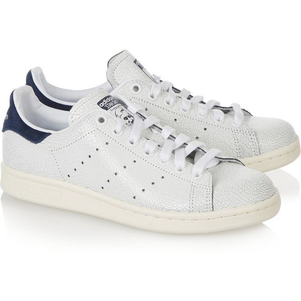 Adidas Originals Stan Smith cracked leather scarpe da ginnastica, Donna, Size