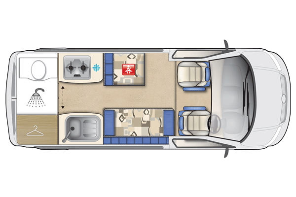 Auto Sleepers Topaz VW Motorhome Features Stylish And Practical Design Including Cruise Control Panoramic Opening Roof Light