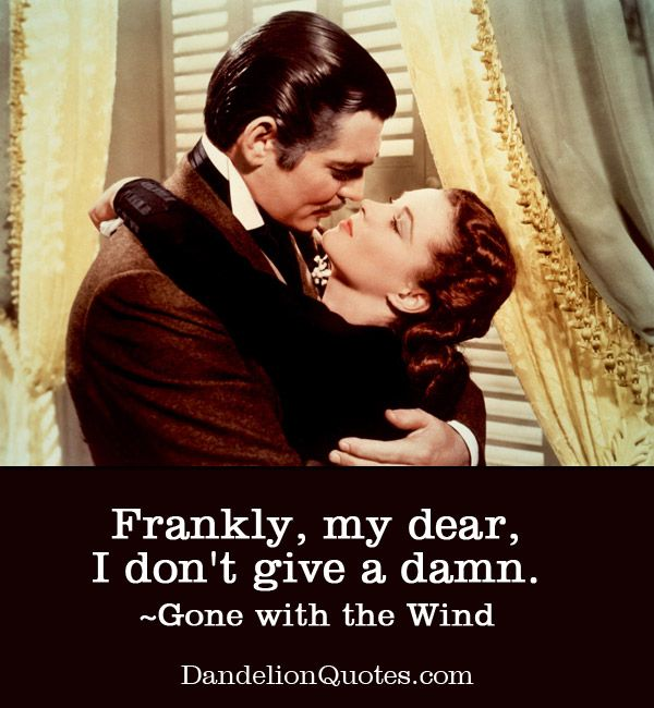 """""""Frankly, my dear, I don't give a damn"""" tämä lause jossain tuunauksessa, esim. kangaskassissa, pinssissä, julisteessa tms. ja mahdollinen kuva-aihe Tuulen viemän hengessä"""