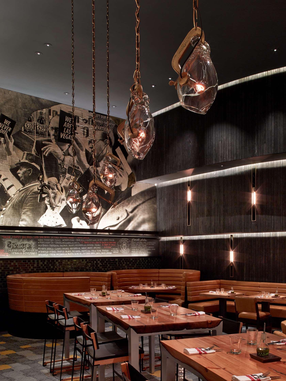 Five50 Restaurant At The Mgm Grand Las Vegas Hotel By Rockwell Group Restaurant Flooring Bar Interior Design Bar Design Restaurant