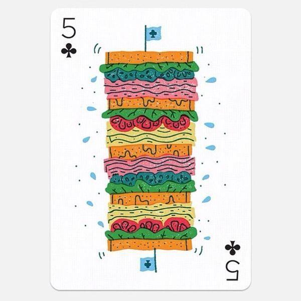 Sandwich, illustration in Illustration