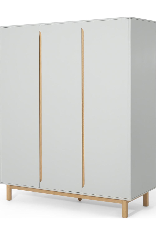 Made Kleiderschrank Helles Holz Grey Oak Wardrobe Furniture Modern Boho Master Bedroom