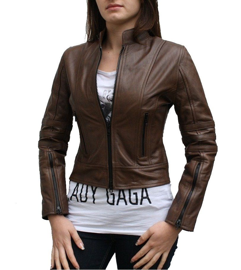 Dark Angel Leather Jacket for Women at Leathers Shop! The causal ...