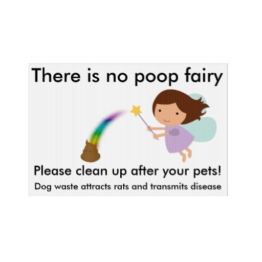 There Is No Poop Fairy Lawn Signs Signs Pinterest Lawn Sign