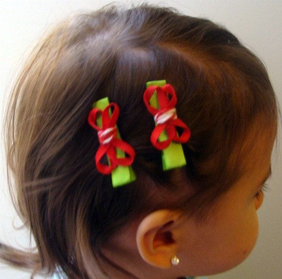 girls holiday hair accessory set