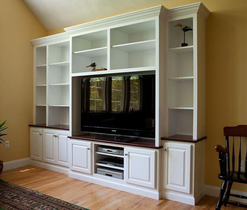 Playroom Bookshelves Built Ins