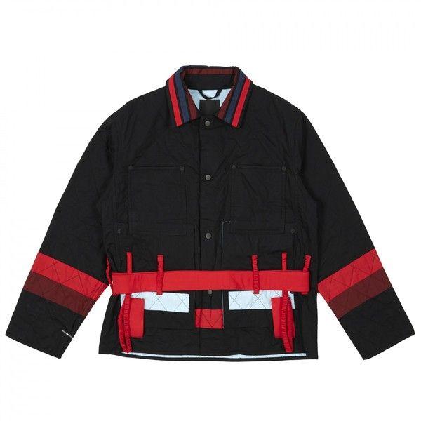 Craig Green Diamond Jacket Black 7 130 915 Idr Liked On Polyvore Featuring Outerwear Jackets Diamond Jackets And Cr Jackets Clothes Design Green Jacket