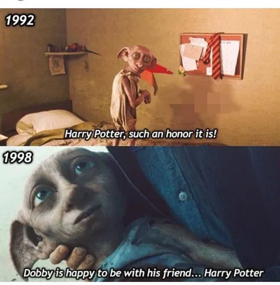 Dobby Has No Limits Funny Pictures With Captions Funny Pictures Bored Teachers