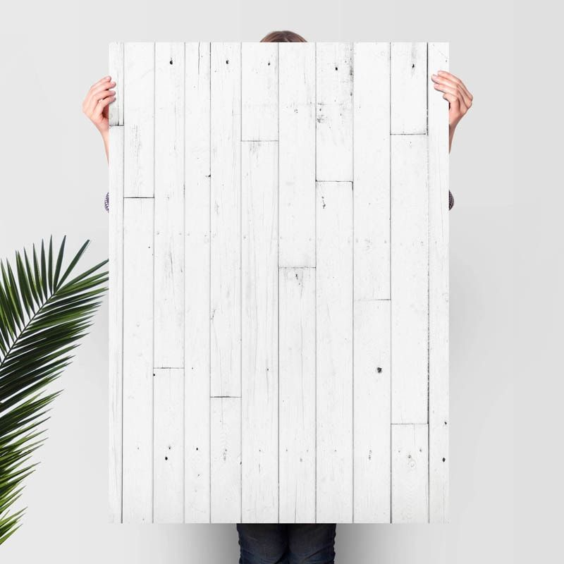 Flat lay /& Food Photography White Wood Vinyl Photography Backdrop for Product