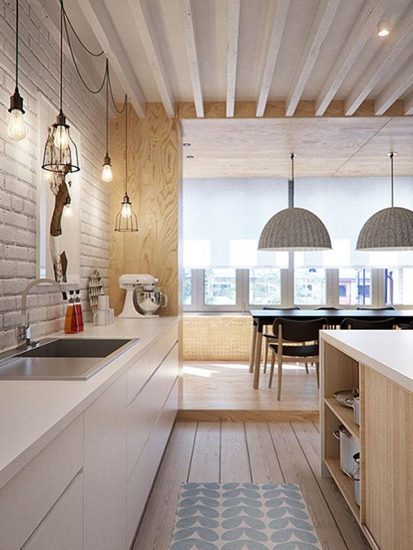 Cocina con iluminacion interior design scandinavian for Ideas iluminacion cocinas