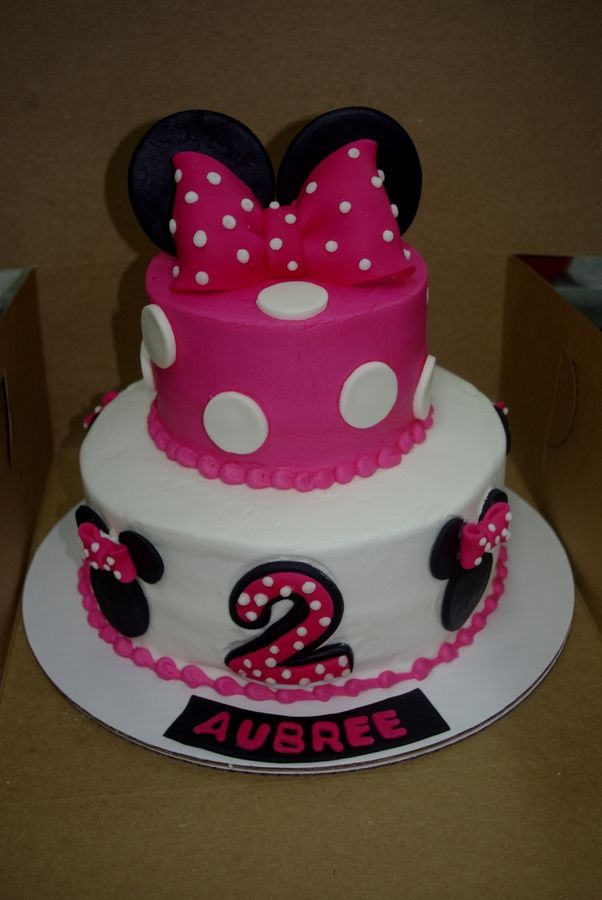 minnie mouse birthday cake Maddys 3rd birthday Pinterest