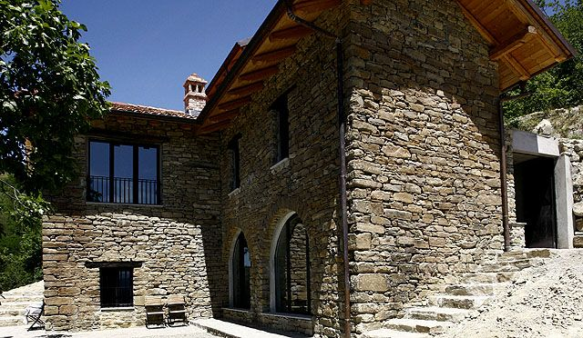Villa Dell'Orso, Piemonte, Italy. Owned and reconstructed
