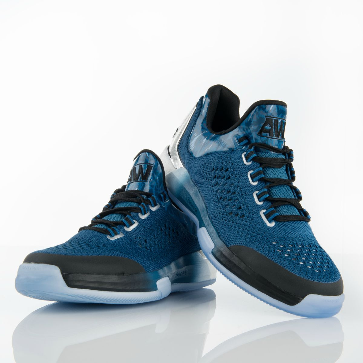 Adidas crazylight boost low 2016 bred black red mens basketball shoes - When You Re Andrew Wiggins You Need A Responsive Shoe That S As Adaptive As