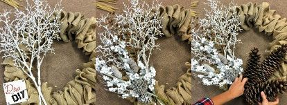 Photo of Make the Perfect Burlap Wreath