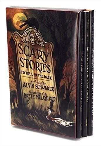 Halloween Scary Stories To Tell In The Dark 3 Paperback Box Set Alvin Schwartz