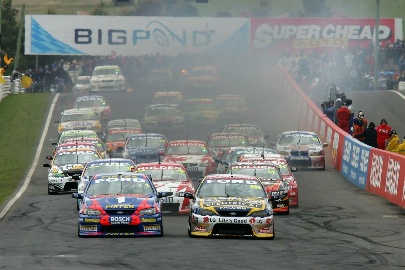 2005 Bathurst Starting Grid Australian v8 supercars