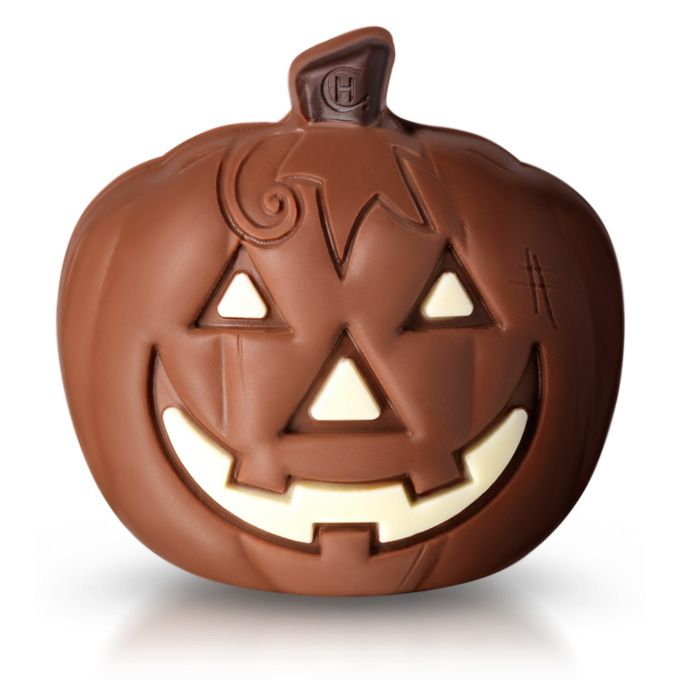 Introducing Yumpkin, our very own specially carved milk chocolate pumpkin! #hotelchocolate #halloween #chocolate #pumpkin