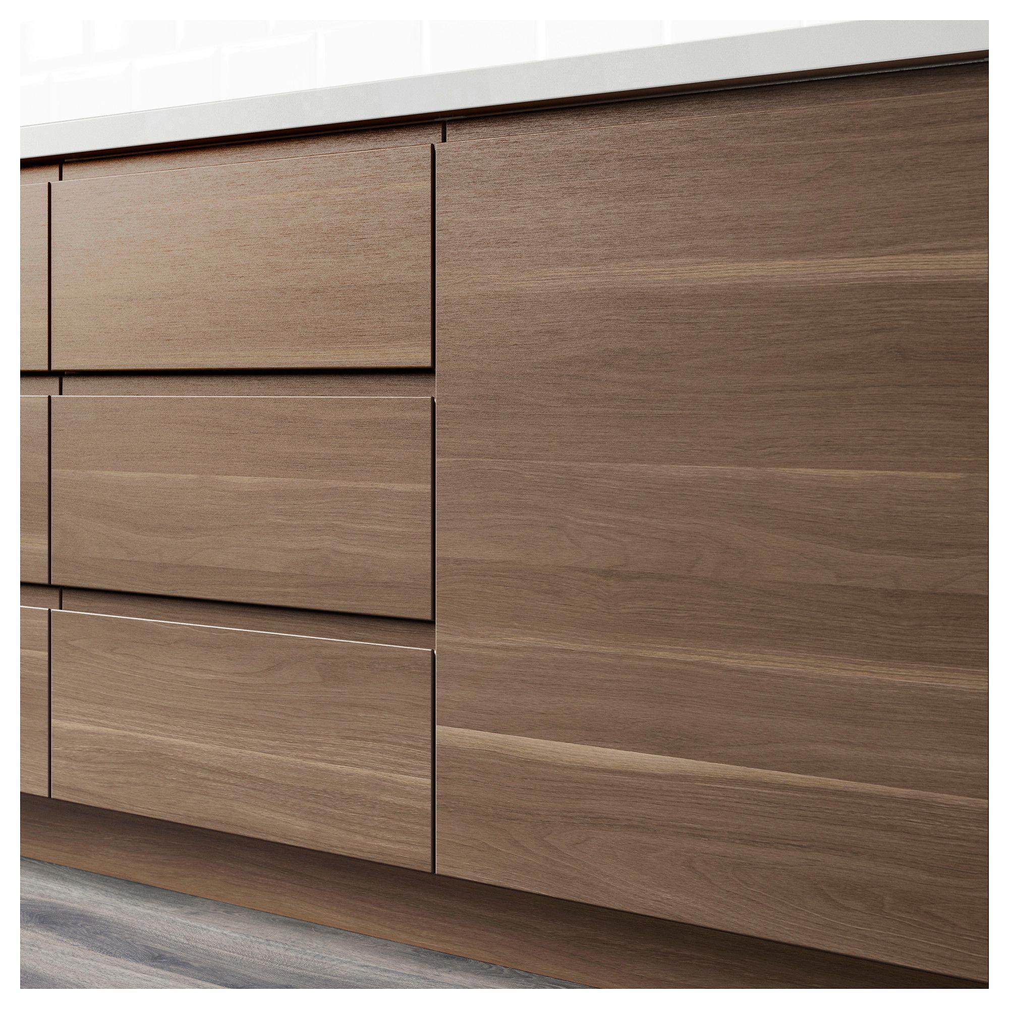 Ikea Voxtorp Door Walnut Effect Topkitchendesigns Kitchen