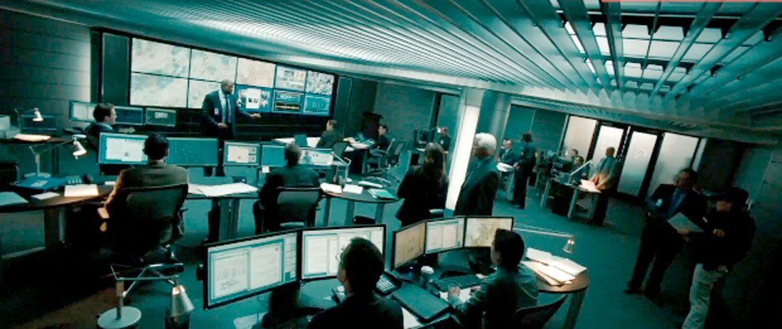 FBI control room Police stations Pinterest - schüller küchen fronten