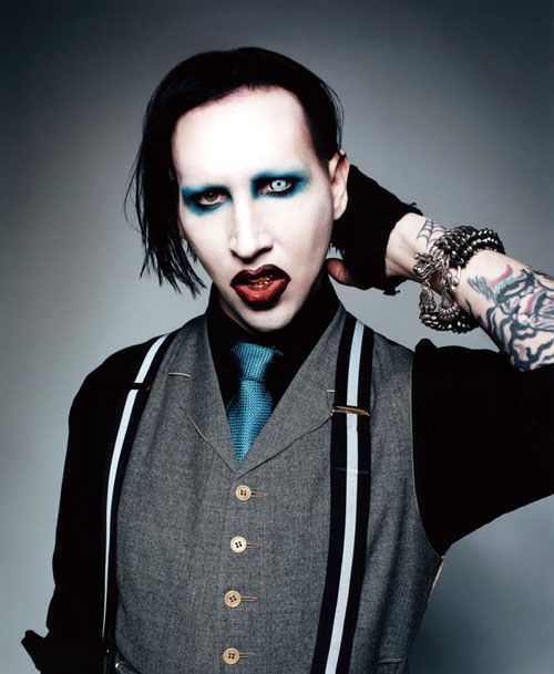 Pin On Marilyn Manson Sexy And Funny
