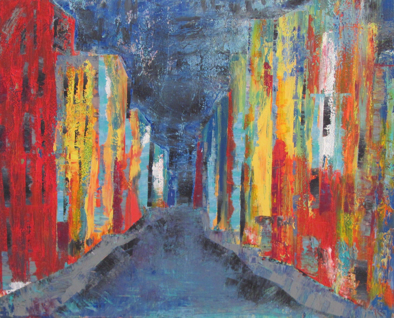 "Stroll"" by Richard McKey at Fondren Art Gallery in Jackson, Mississippi"