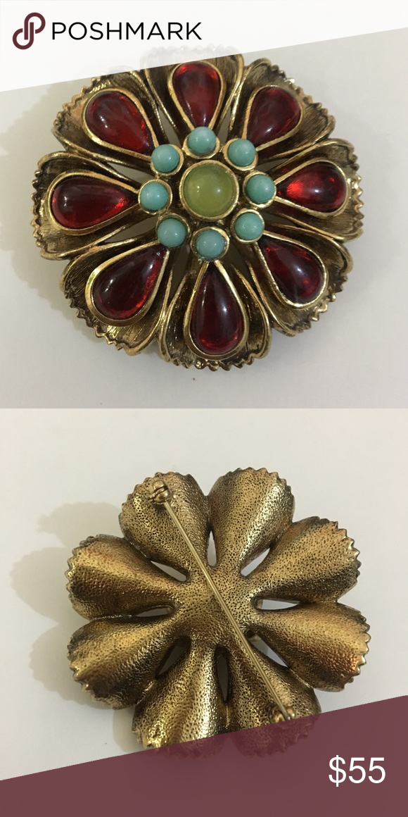 High End Costume Jewelry Brooche