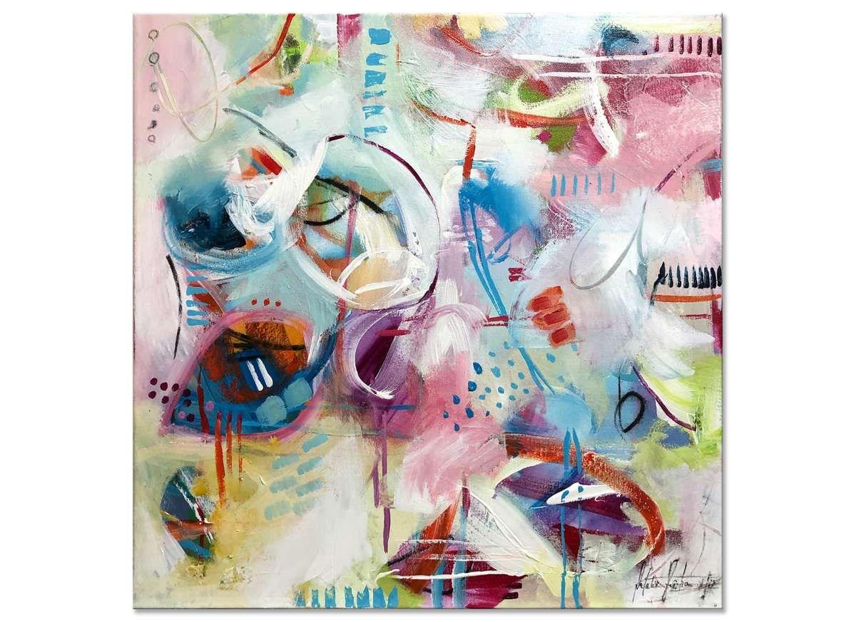Acrylgemälde abstrakt, Kunst modern Im Chaos der Gefühle