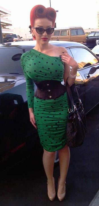 NEED THIS DRESS!!! Gorgeous as ever Pinup Doll Ashley Marie