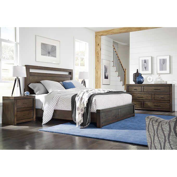 Parkside 4 Piece Cal King Bedroom Set King Bedroom Sets Bedroom