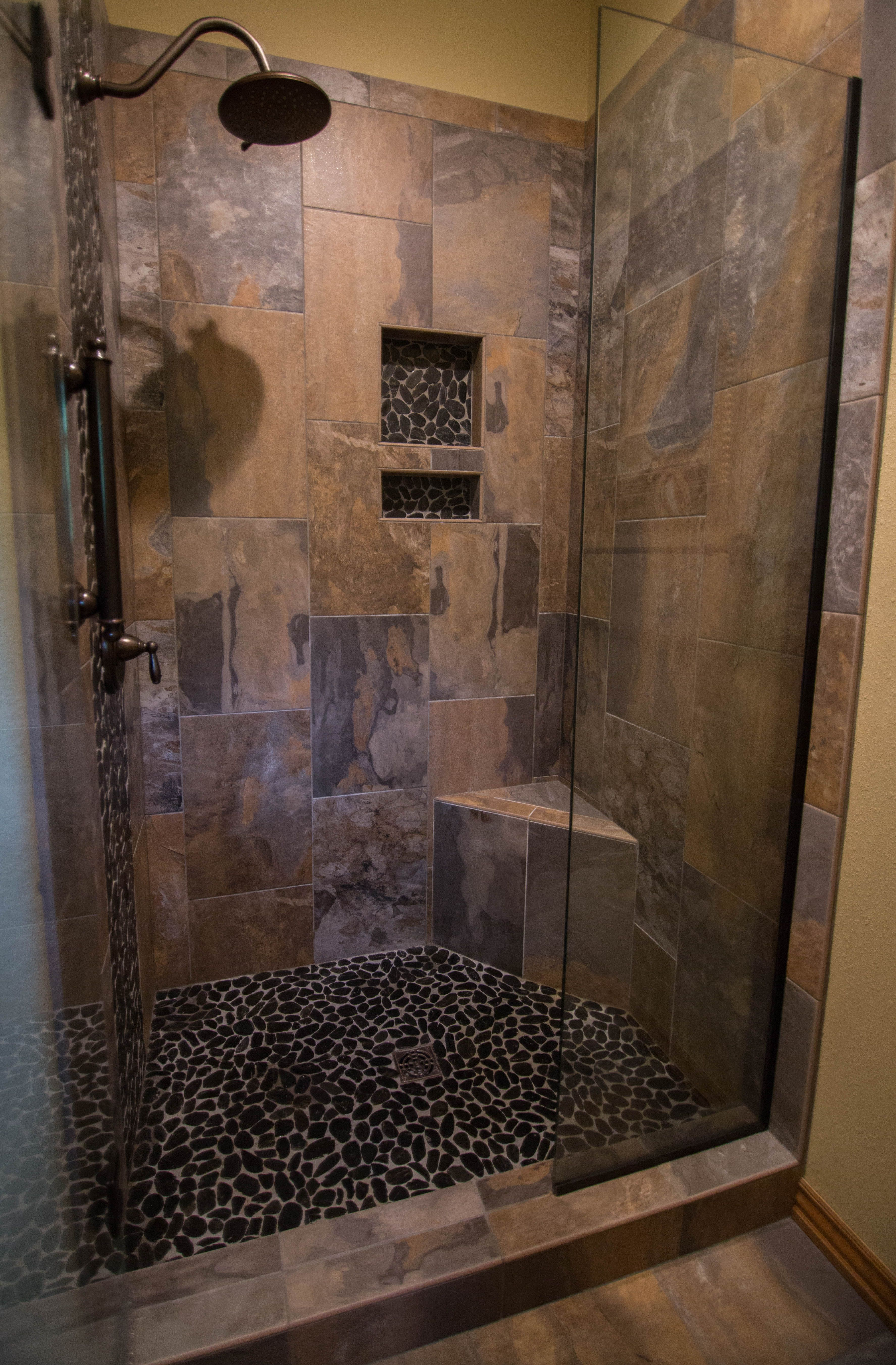 Renovating Your Shower Stoneridge Flooring Provides Shower Tile