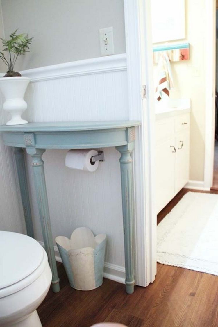 37 Home Improvement Ideas To Maximize Your Living Space Small Bathroom Diy Bathroom Storage Hacks Half Table
