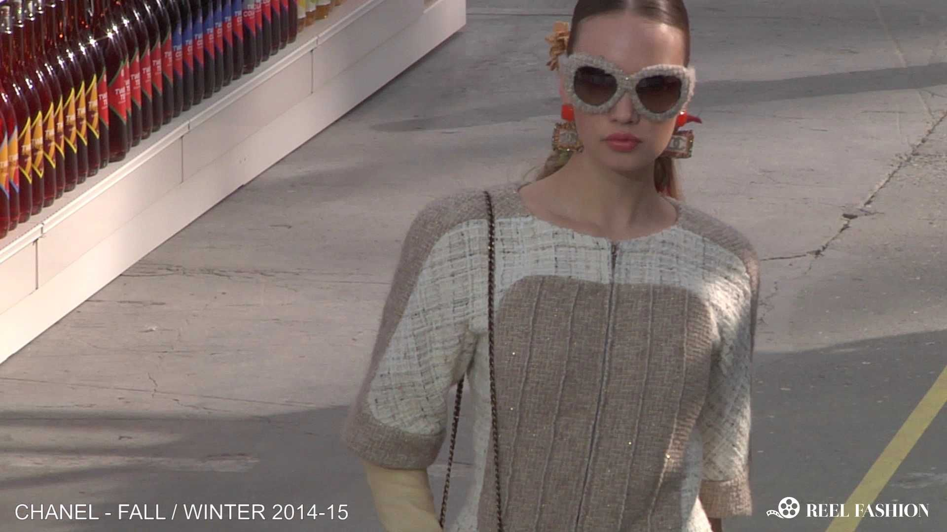 The sunglasses | Accessories from the Runway | Chanel Fall/Winter 2014-15 | Paris Fashion Week | Full show video available on ReelFashion.TV