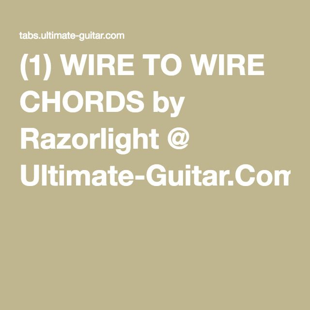 Fantastic Ibanez Jem Wiring Huge Bass Pickup Configurations Square Wiring Diagram For Les Paul Guitar 3 Humbuckers Youthful Ibanez Humbuckers PurpleReplacing A Circuit Breaker 1) WIRE TO WIRE CHORDS By Razorlight @ Ultimate Guitar.Com ..