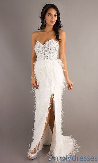 Feathered Dresses for Less