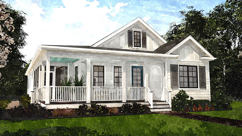The Bayberry Southern Living House Plans Farmhouse Style House Plans Modern Style House Plans House Remodeling Plans