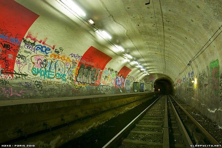 Abandoned Station Haxo Paris Metro Paris Metro Paris Pictures Paris