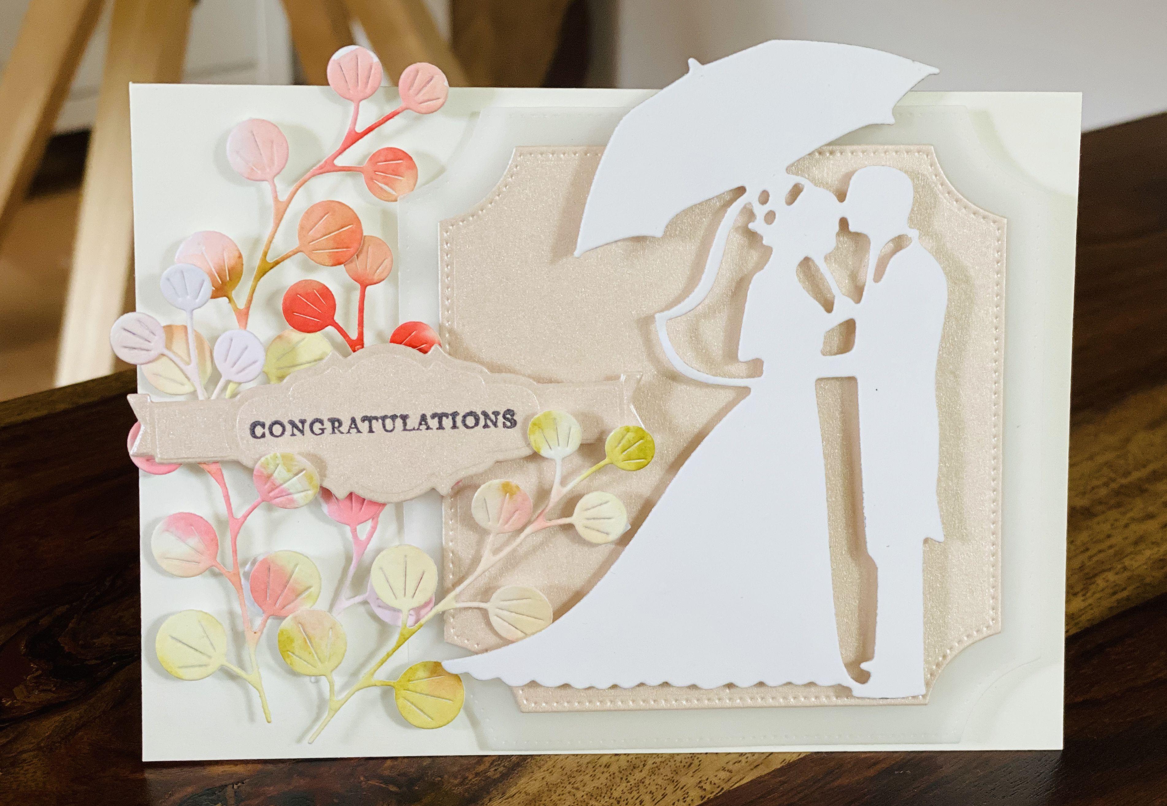 #diy #weddingcards #weddingcardideas #loveisintheair #lovecards #hochzeitskarten #brautpaar #diy #diycards #diycardhandmade