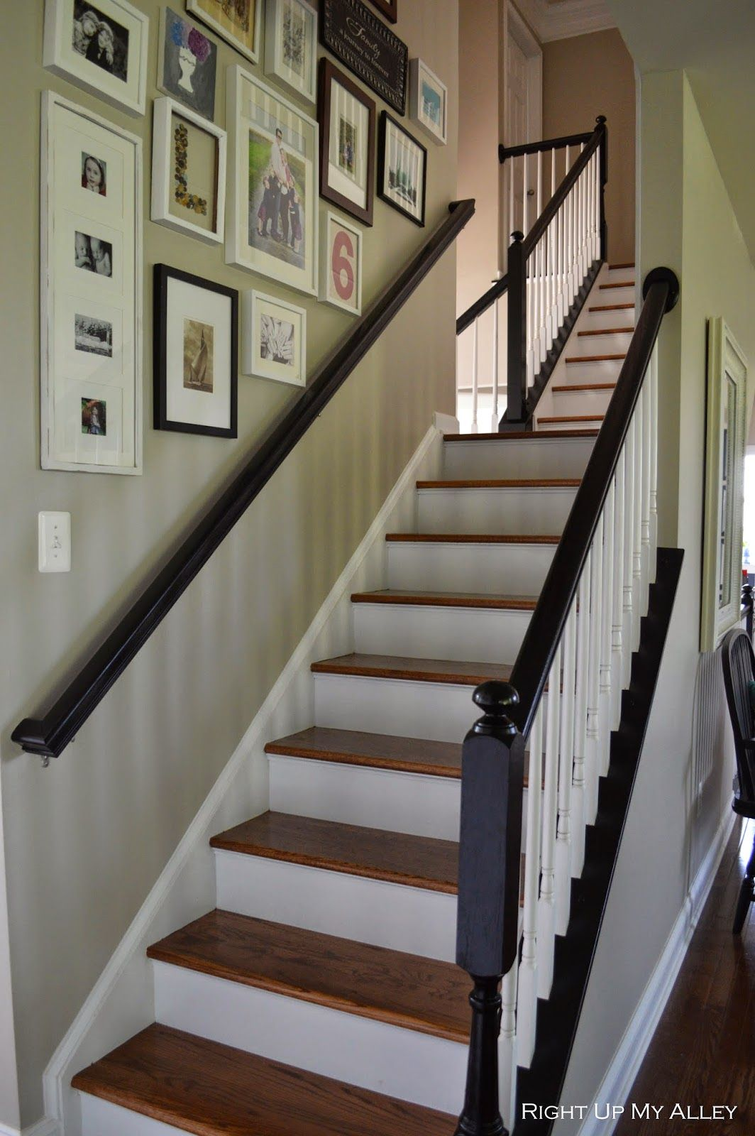 Staircase, All Trimmed Out | Picture Wall | Pinterest