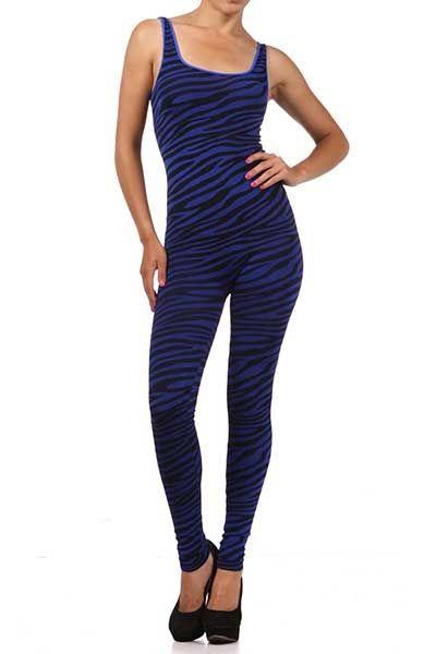 275765bfcc Premium Nylon Spandex Zebra Bodysuit. This Halloween