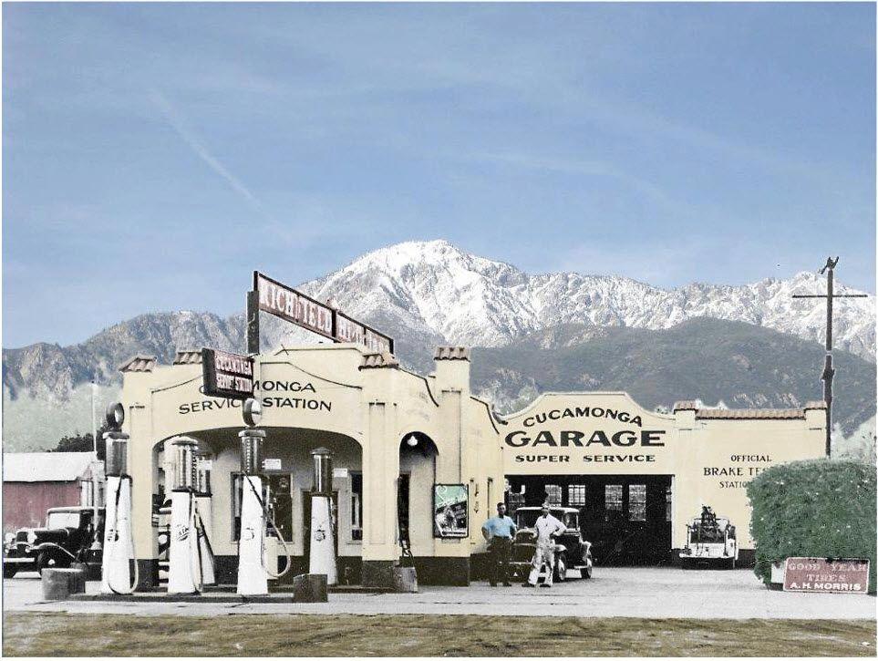 Vintage gas station gas stations pinterest