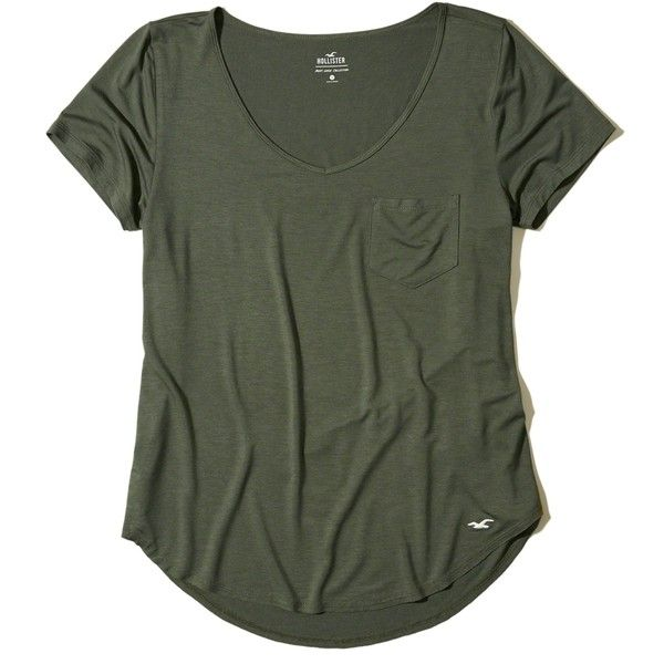 Designer Clothes, Shoes & Bags for Women | SSENSE. Hollister ShirtsGreen TeeOlive  ...